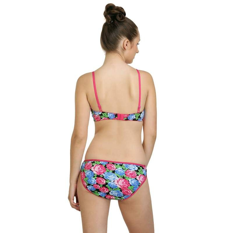 2200c054eb Bodycare Bridal Bra   Panty Set In Poly Cotton - Multi-Color online from  nykaa.com at best price