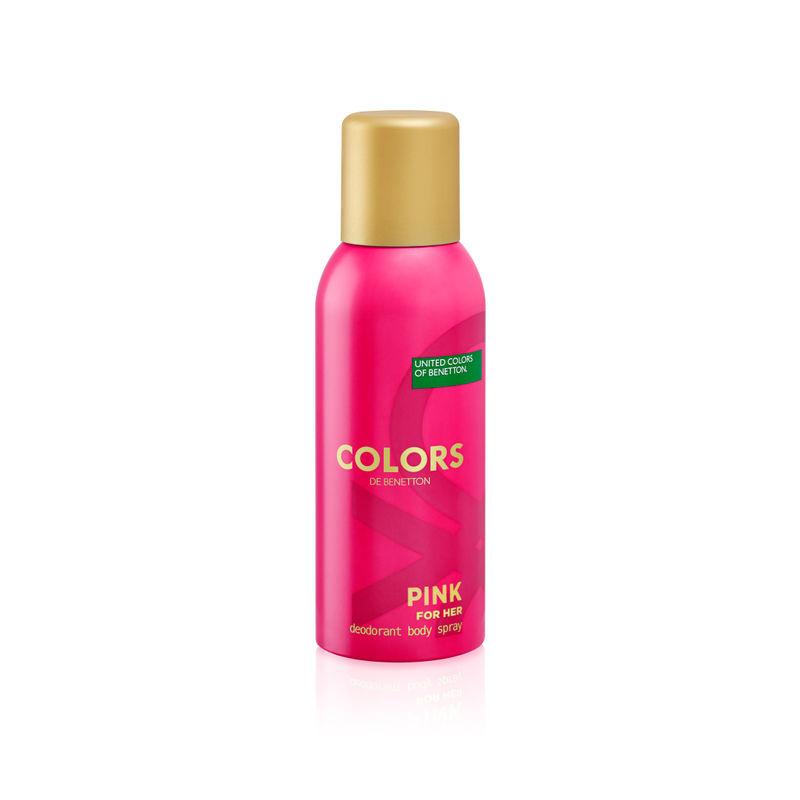 United Colors Of Benetton Colors De Benetton Pink Deodorant Body Spray