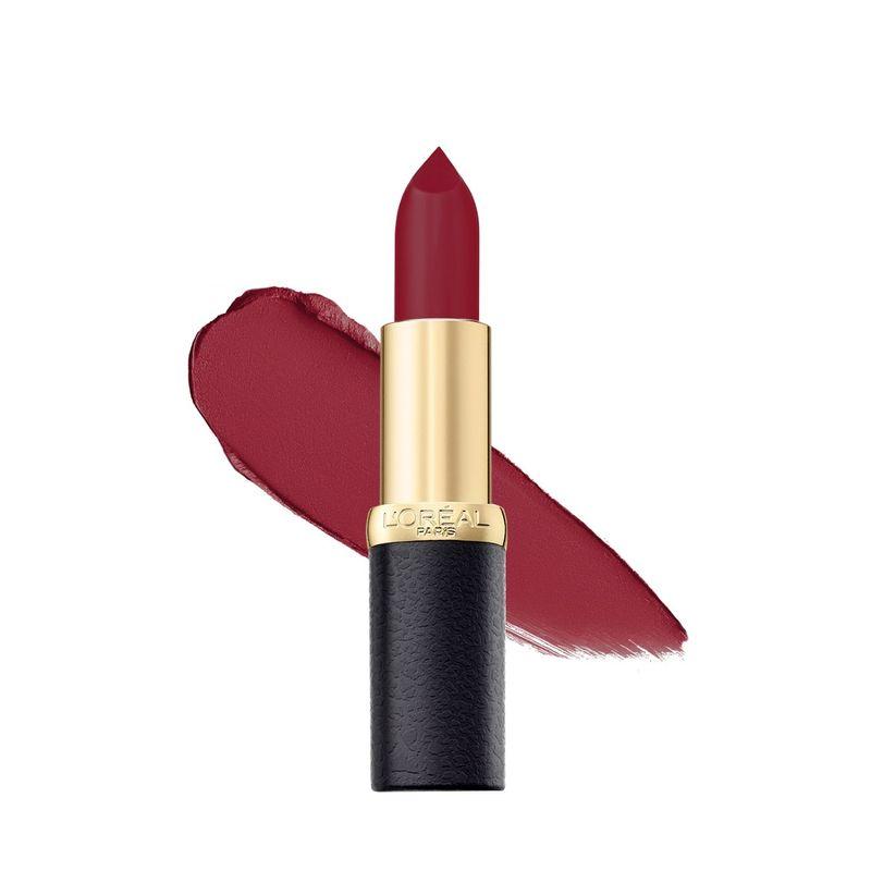 L'Oreal Paris Color Riche Moist Matte Lipstick - 218 Black Cherry