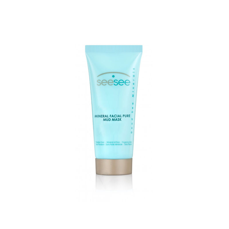 SeeSee Mineral Facial Pure Mud Mask