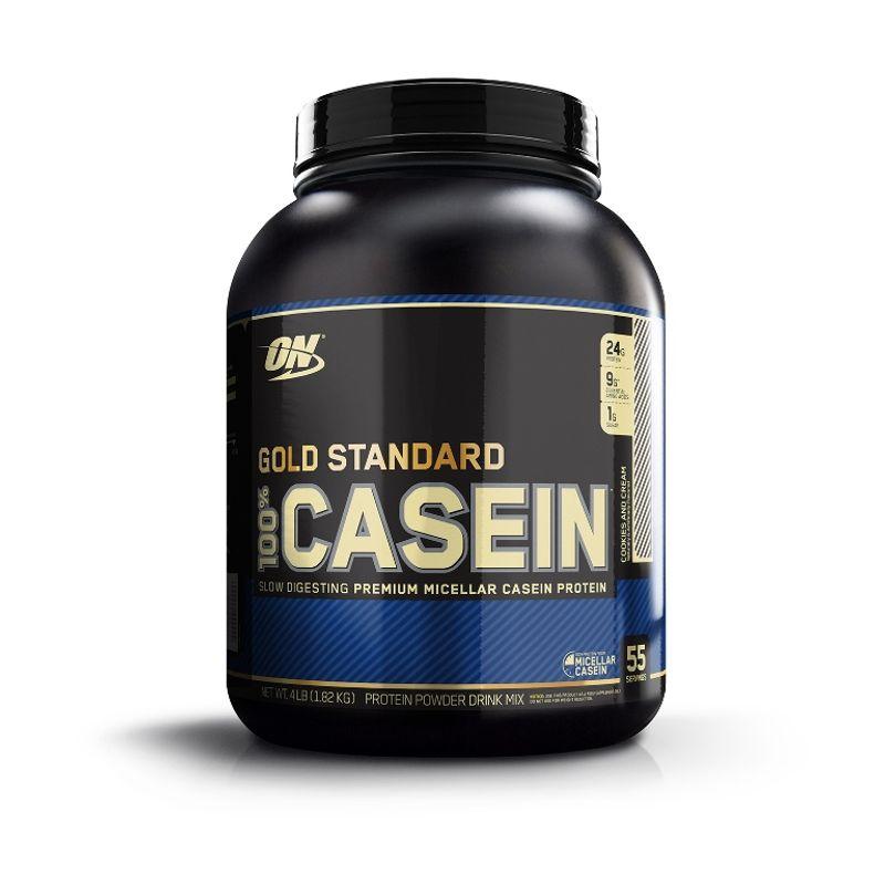 Optimum Nutrition (ON) 100% Casein Protein Powder (Cookies & Cream)