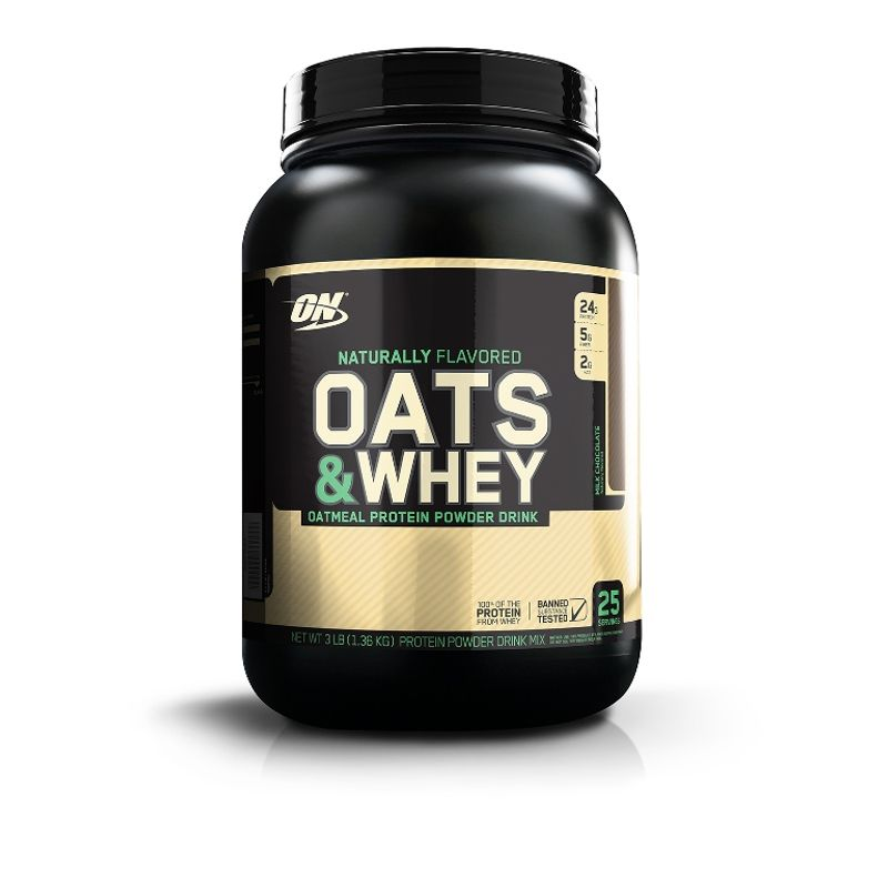 Optimum Nutrition (ON) 100% Natural Oats & Whey (Milk Chocolate)