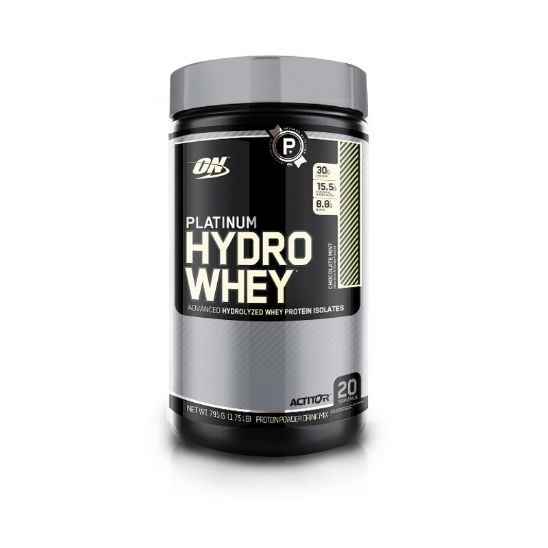Optimum Nutrition (ON) Platinum Hydro Whey Protein Powder (Chocolate Mint)