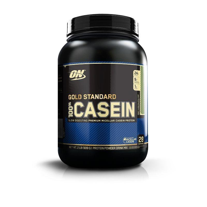Optimum Nutrition (ON) 100% Casein Protein Powder (Mint Chocolate Chip)