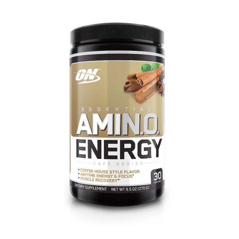 Optimum Nutrition (ON) Amino Energy Powder - 30 Servings (Iced Chai Tea Latte)