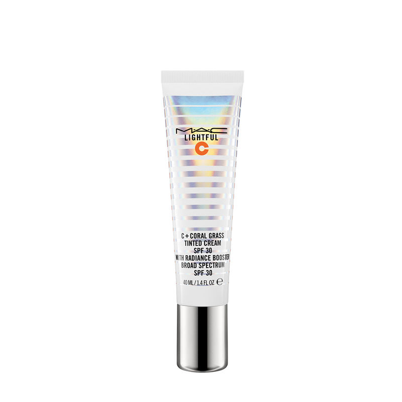 M.A.C Lightful C + Coral Grass Tinted Cream SPF 30 With Radiance Booster - Medium Plus