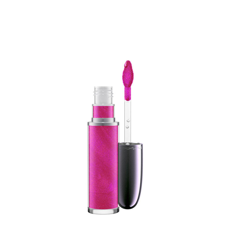 M.A.C Grand Illusion Holographic Glossy Liquid Lipcolour - Pink Trip