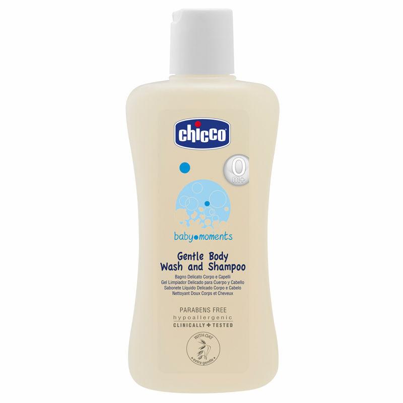 Chicco Gentle Body Wash And Shampoo 100ml