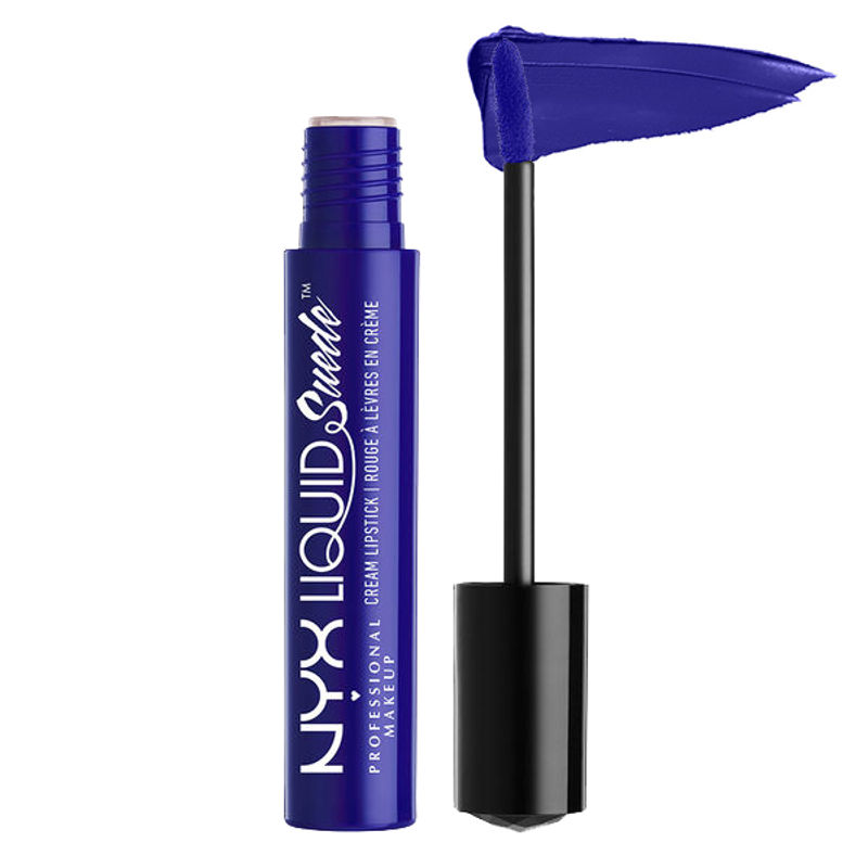 NYX Professional Makeup Liquid Suede Cream Lipstick - Jet Set