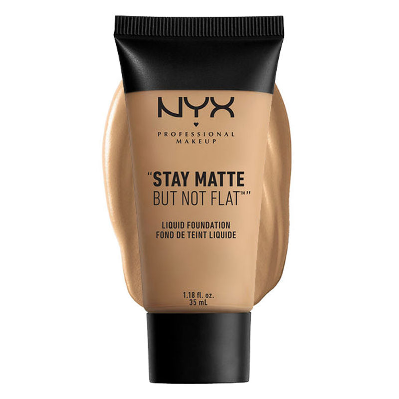 NYX Professional Makeup Stay Matte But Not Flat Liquid Foundation - 10.5 Beige