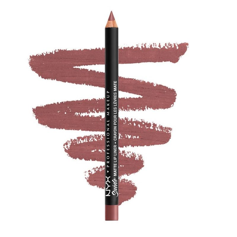 NYX Professional Makeup Suede Matte Lip Liner - Whipped Caviar