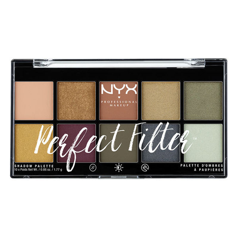 NYX Professional Makeup Perfect Filter Eyeshadow Palette - Olive You
