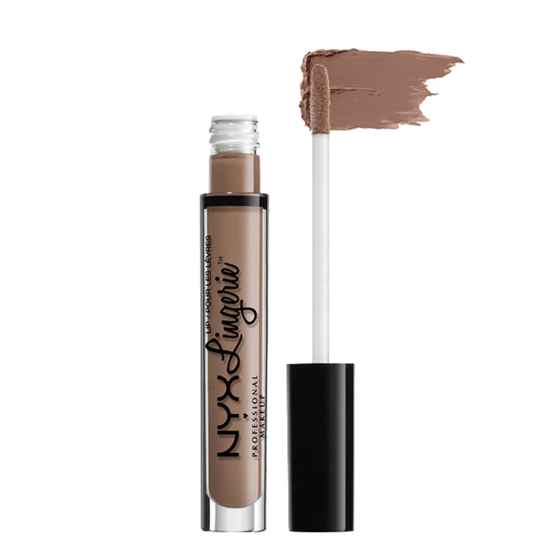 NYX Professional Makeup Lip Lingerie Liquid Lipstick - Delicate Lust
