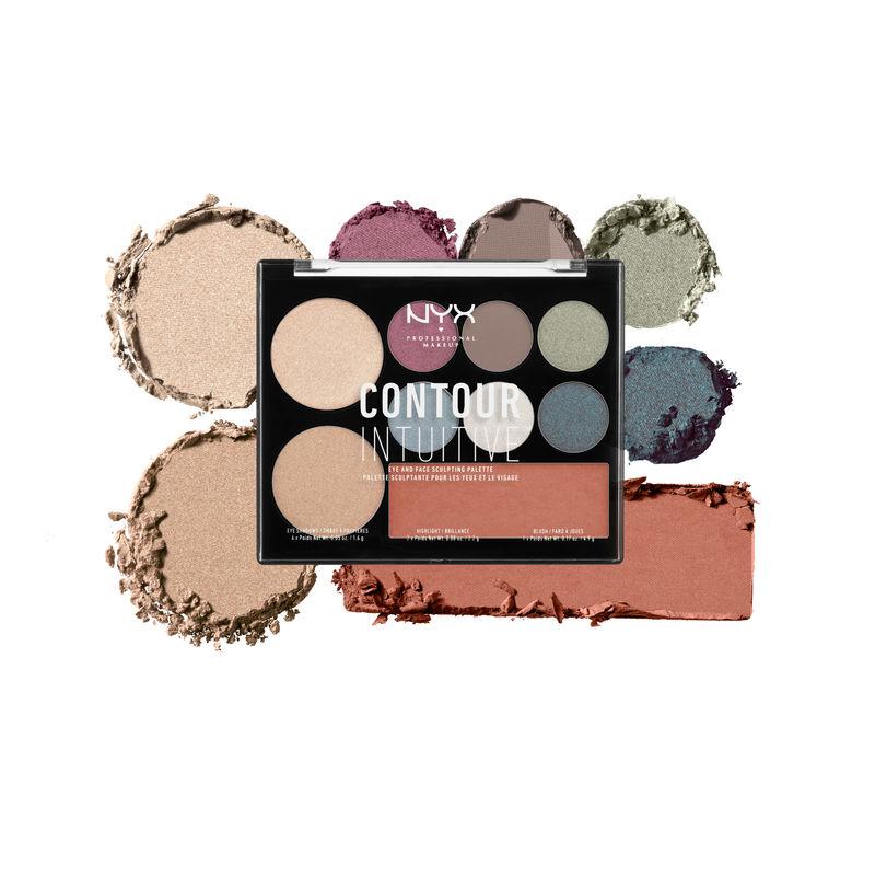 NYX Professional Makeup Contour Intuitive Palette - Plum Metals