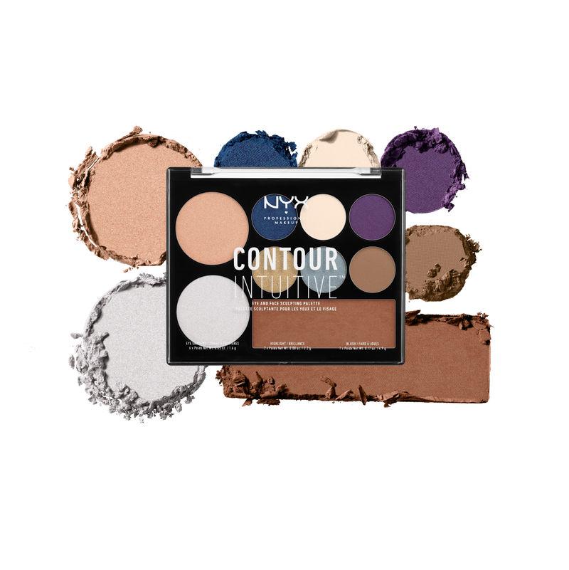 NYX Professional Makeup Contour Intuitive Palette - Jewel Queen