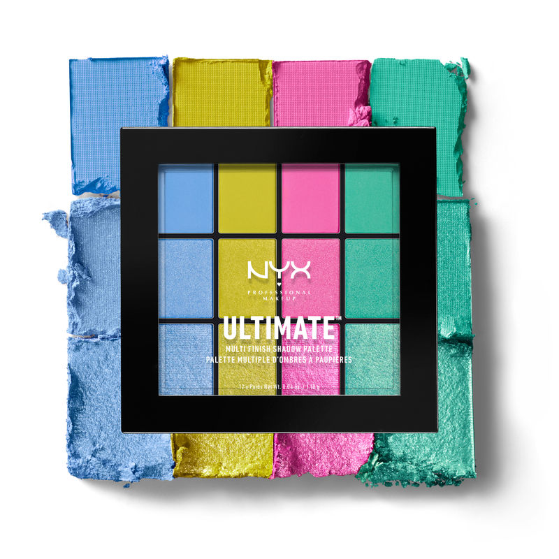 NYX Professional Makeup Ultimate Multi-Finish Shadow Palette - Electric