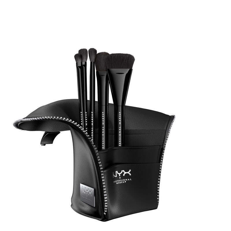 NYX Professional Makeup Beauty Staple Makeup Brush Set