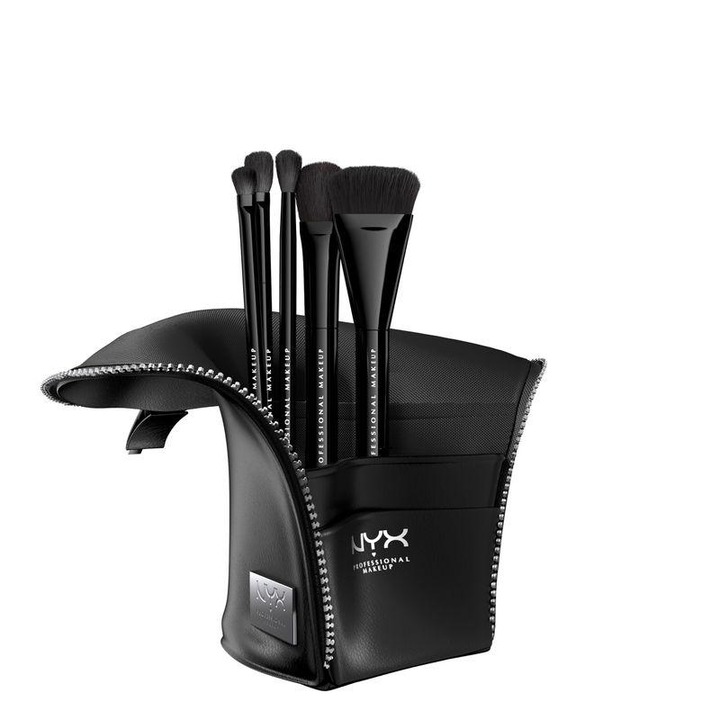 NYX Professional Makeup Beauty Staple Makeup Brush Set