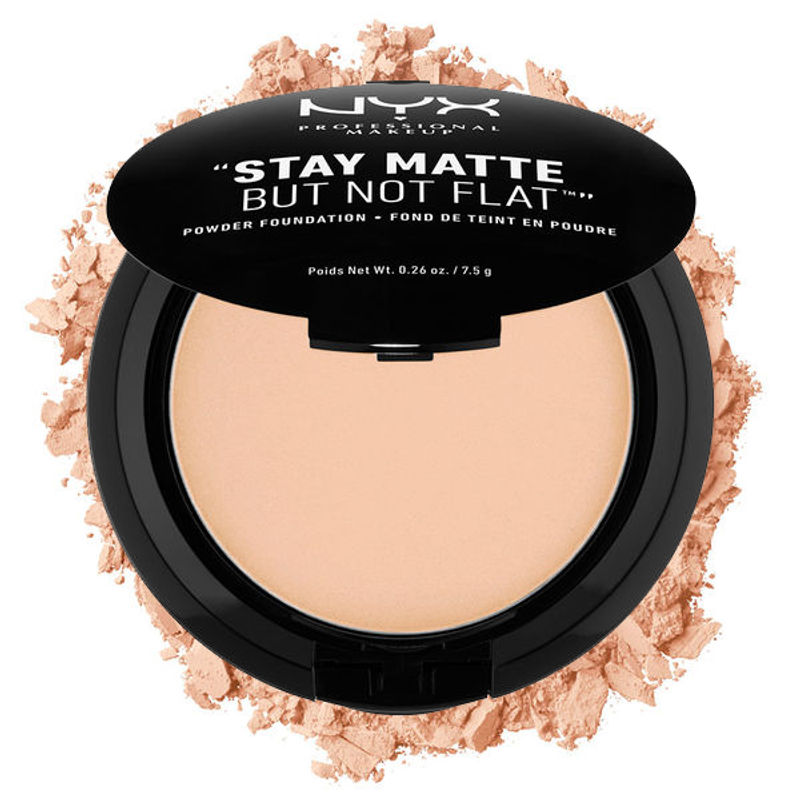 NYX Professional Makeup Stay Matte But Not Flat Powder Foundation - 03 Natural