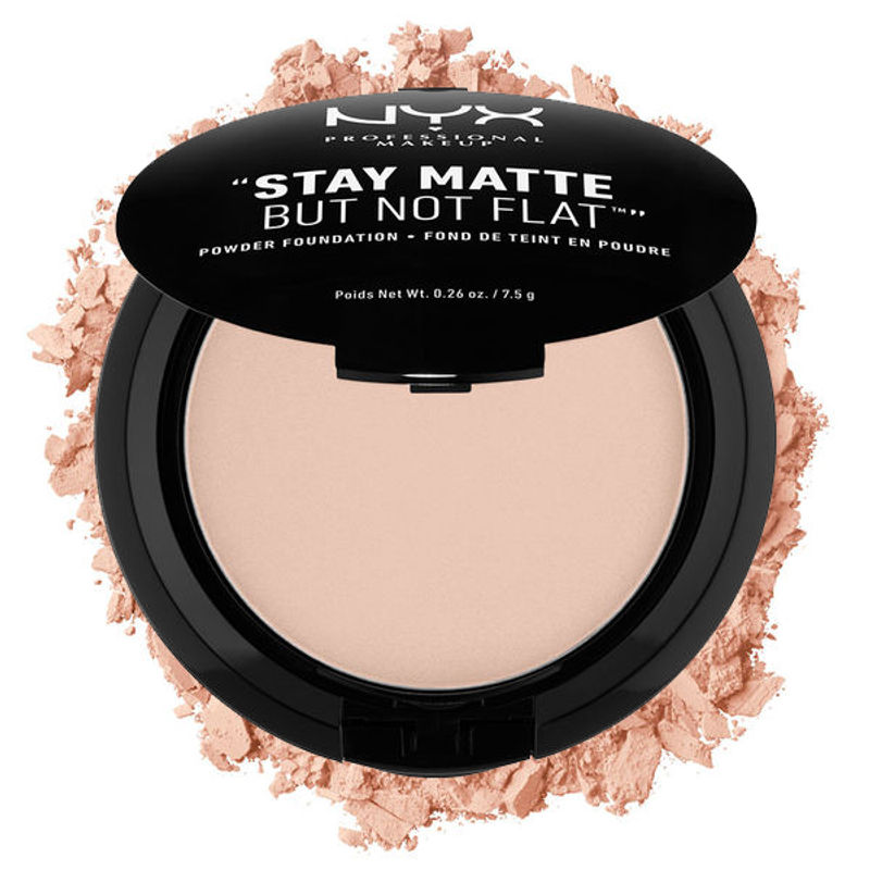 NYX Professional Makeup Stay Matte But Not Flat Powder Foundation - 04 Creamy Natural