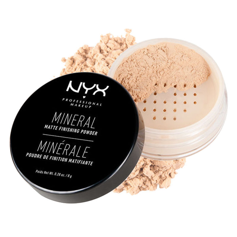 NYX Professional Makeup Mineral Matte Finishing Powder - Light/Medium