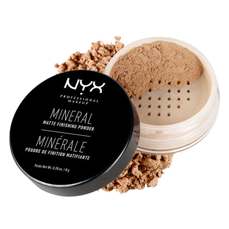 NYX Professional Makeup Mineral Matte Finishing Powder - Medium/Dark
