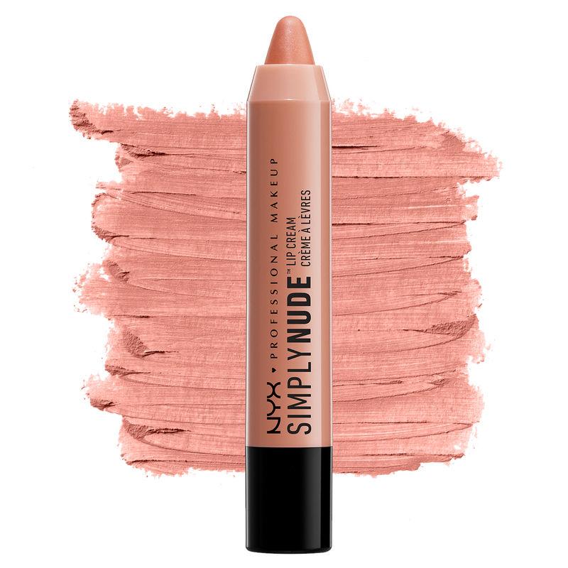 NYX Professional Makeup Simply Nude Lip Cream - Disrobed