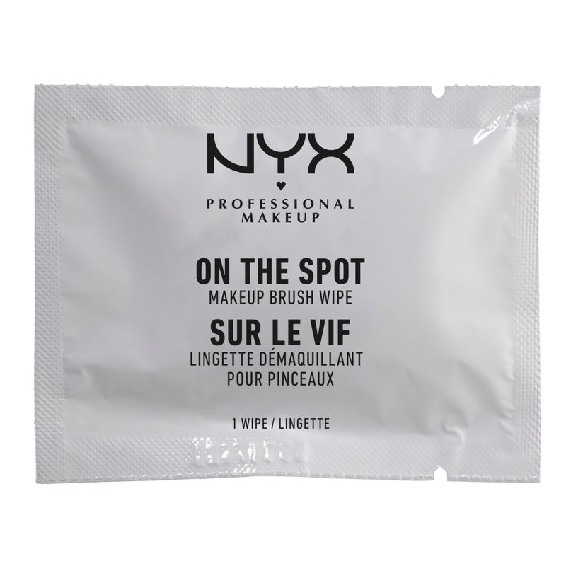 NYX Professional Makeup On The Spot Makeup Brush Wipe
