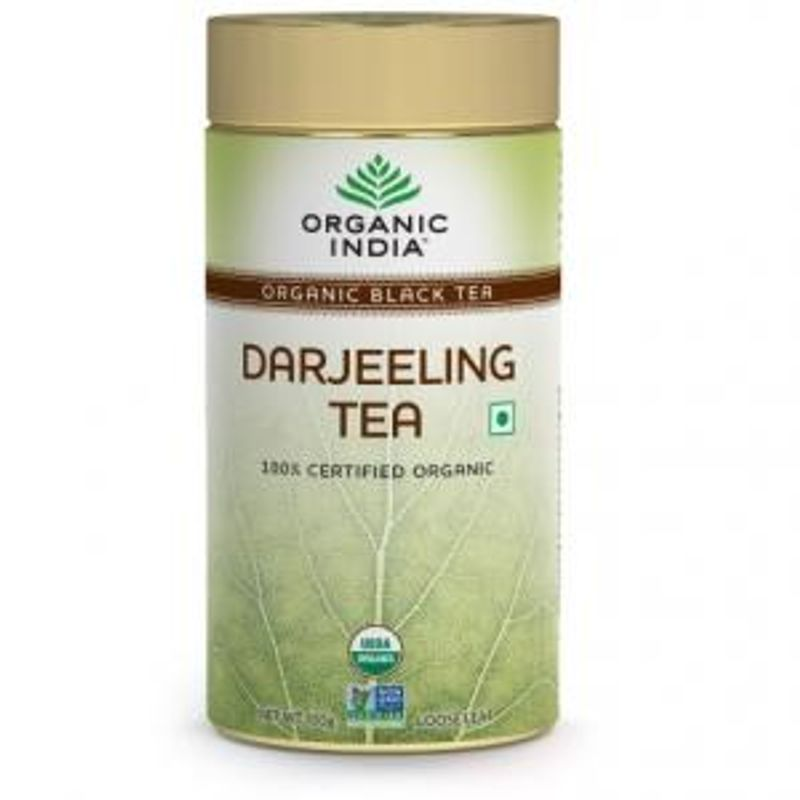 Organic India Darjeeling Tea Tin (100gm)