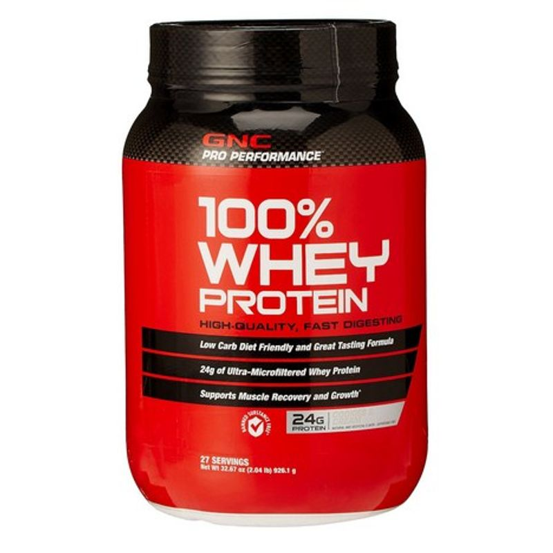 GNC Pro Performance 100% Whey Protein Cookies And Cream (2 Lbs)