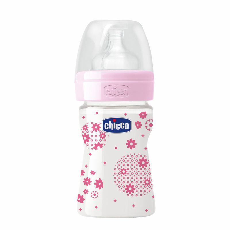 Chicco Well - Being PP Bottle Pink