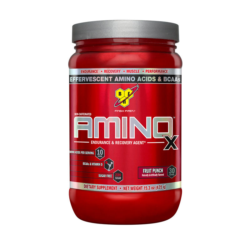 BSN Amino X Muscle Recovery Supplement (Fruit Punch)
