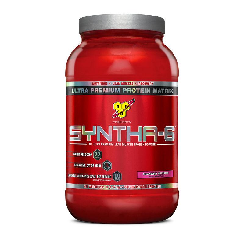 BSN Syntha-6 Protein Powder (Strawberry Milkshake)