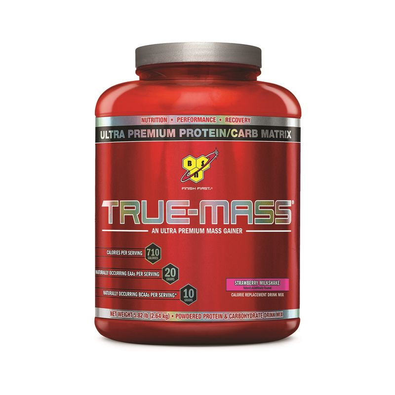 BSN True-Mass Gainer (Strawberry Milkshake)