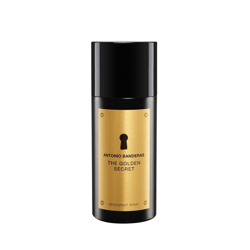 ba4b814bd Buy Antonio Banderas The Golden Secret Deodorant Spray at Nykaa.com