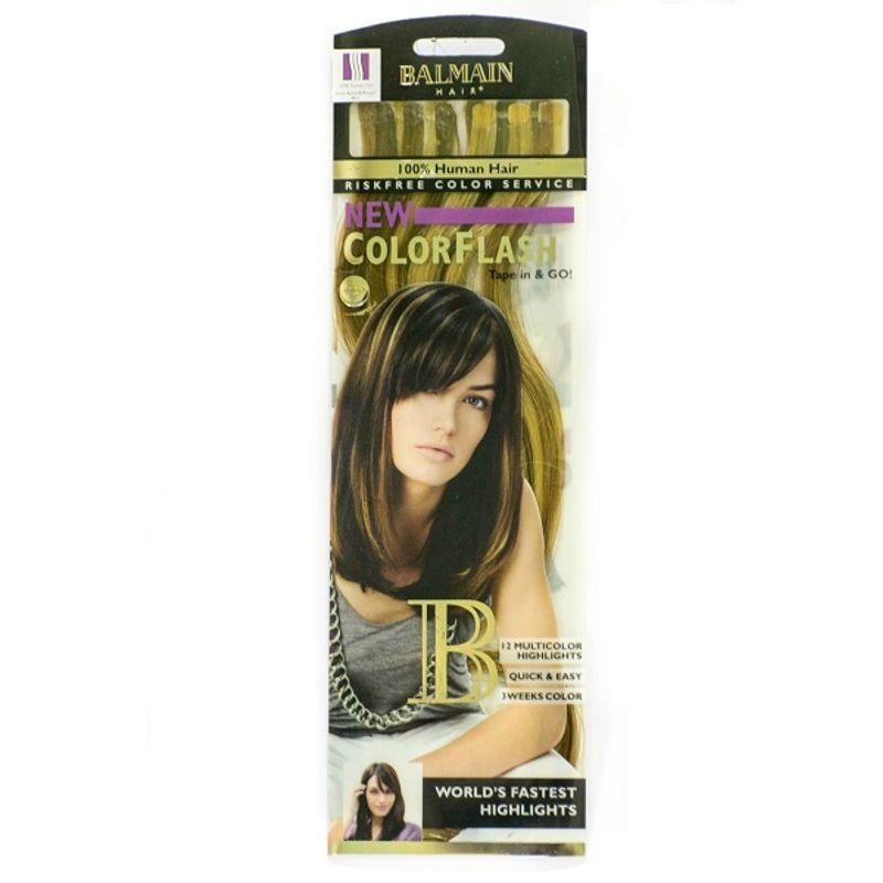 Balmain Paris Color Flash 40Cm Hair Extension - Honey Blonde & Walnut