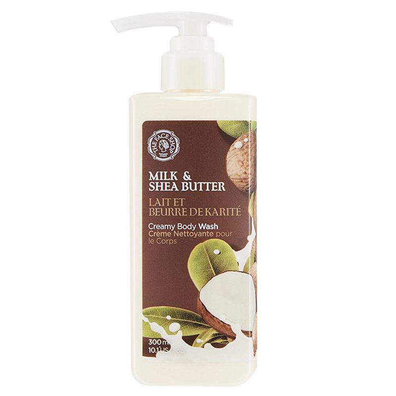 The Face Shop Milk & Shea Butter Creamy Body Wash
