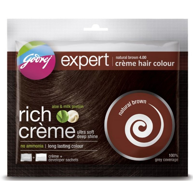 Godrej Expert Rich Crème Hair Colour - Natural Brown