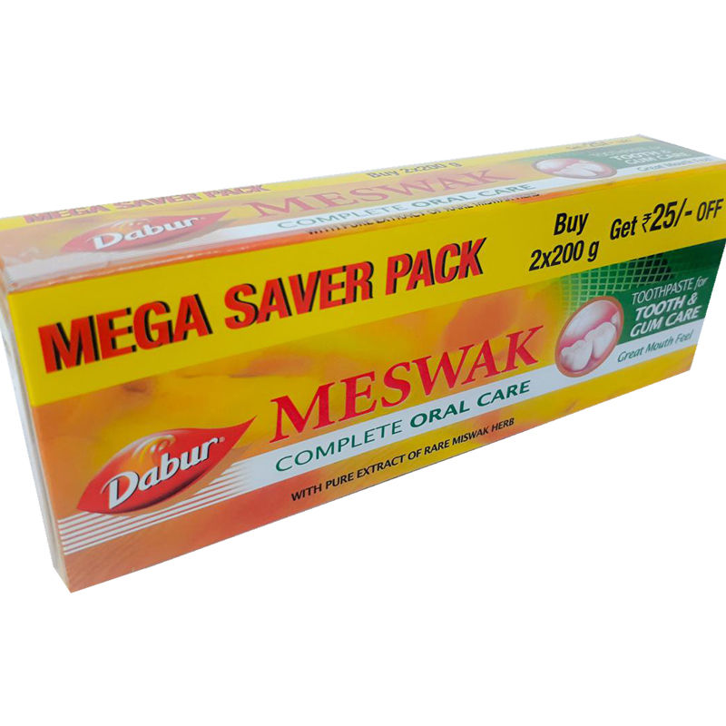 Dabur Meswak Complete Oral Care Toothpaste Mega Saver Pack