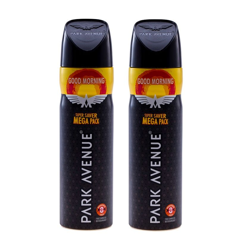 Park Avenue Men's Classic Deo Mega Pack Good Morning (Pack Of 2)