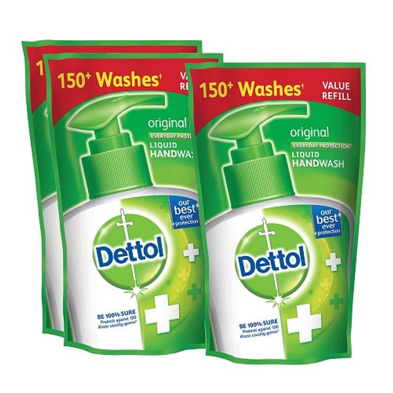 Dettol Original Liquid Hand Wash (175 Ml)(Buy 2 Get 1 Free)(Off Rs.50)
