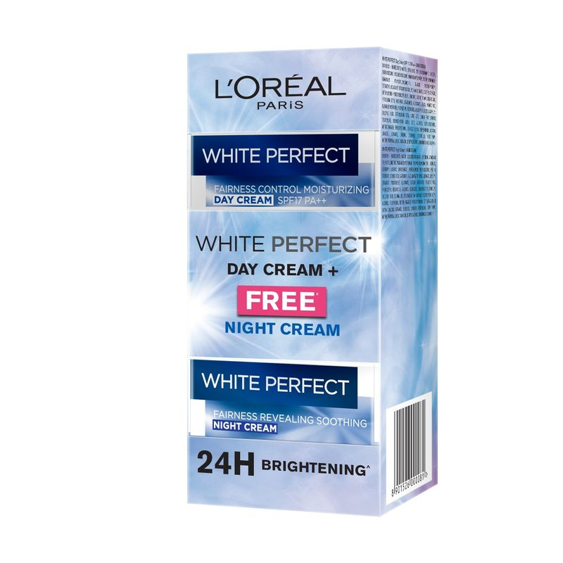 L'Oreal Paris White Perfect Day Cream + Free Night Cream