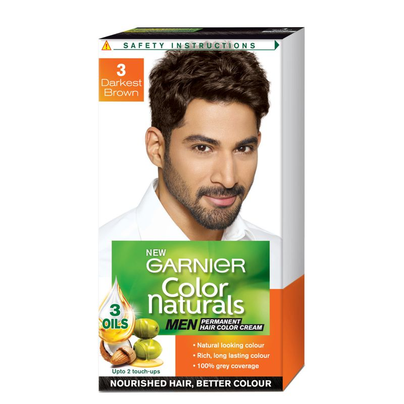 Garnier Color Naturals Men - Darkest Brown