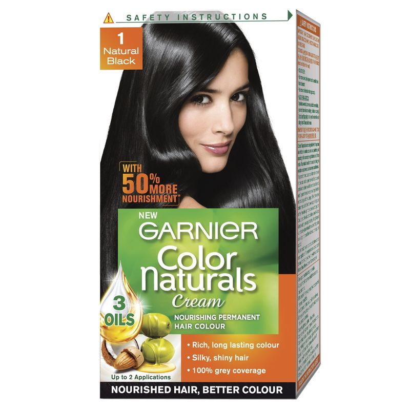 Garnier Color Naturals - 1 Natural Black 50% Extra Free