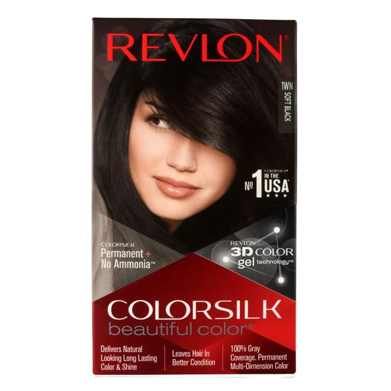 Revlon Colorsilk Hair Color Soft Black 1WN