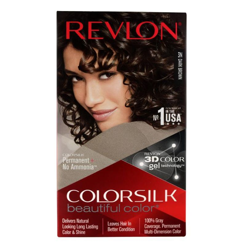 Revlon Colorsilk Hair Color Dark Brown 3N