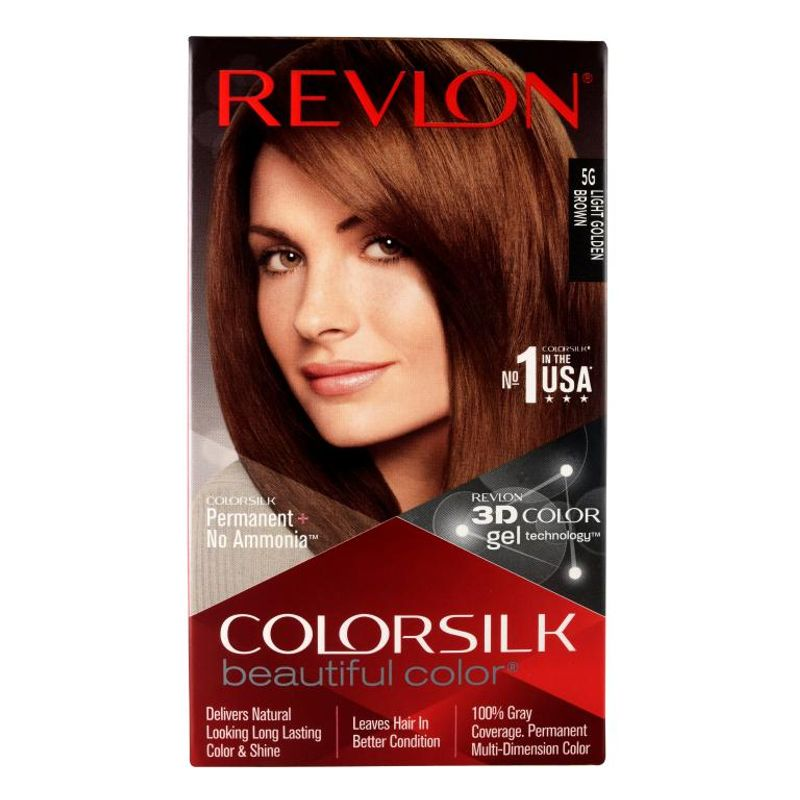 Revlon Colorsilk Hair Color Light Golden Brown 5G