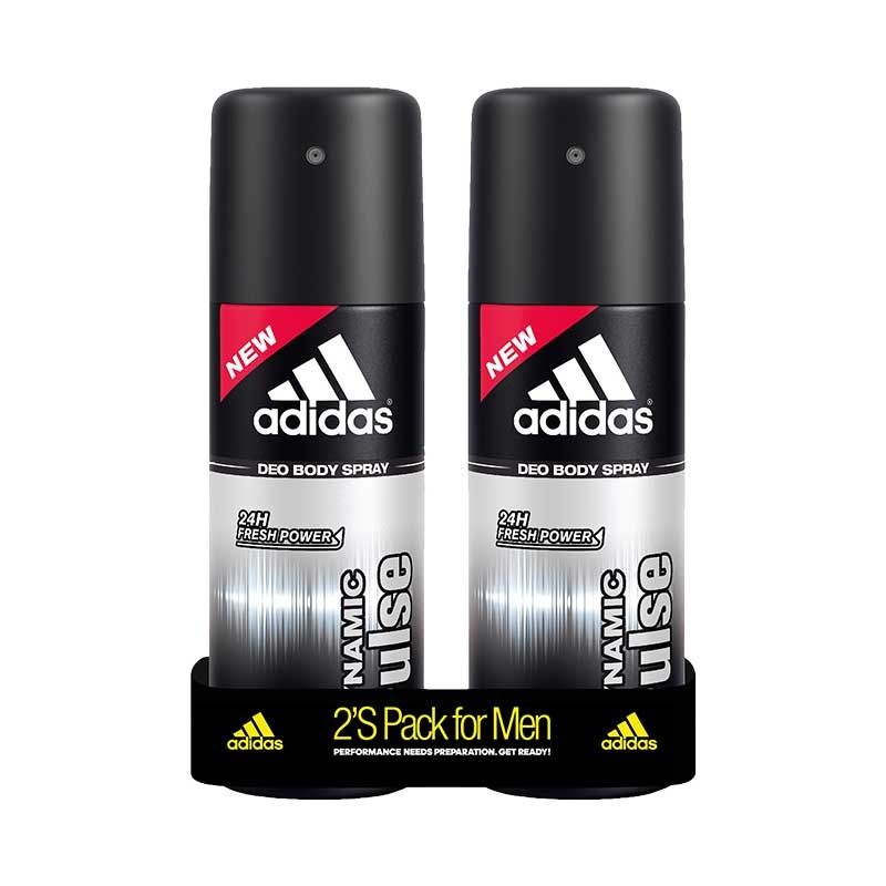 Adidas Dynamic Pulse Deodorant Body Spray For Men Combo (Pack Of 2)
