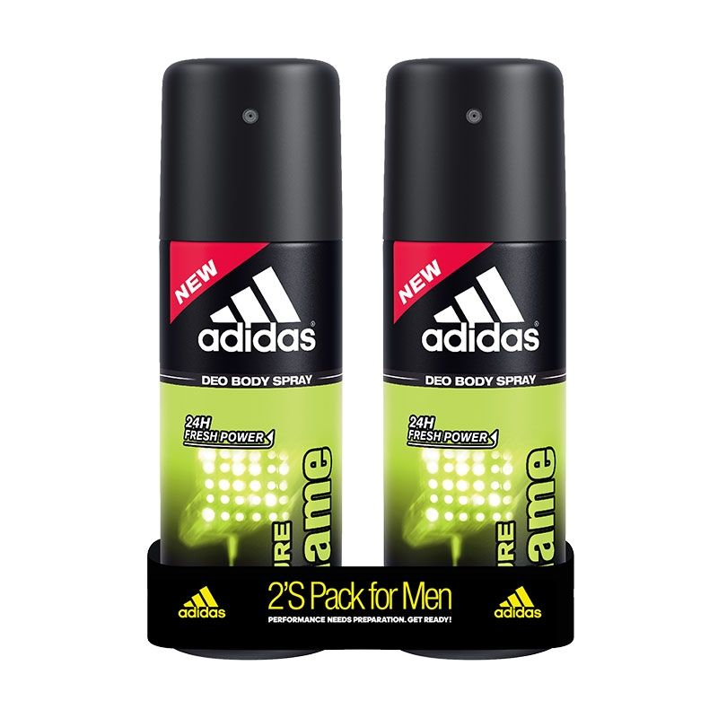 Adidas Pure Game Deodorant Body Spray For Men Combo (Pack Of 2)