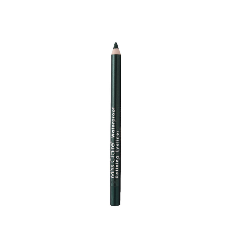 Miss Claire Waterproof Defining One Stroke Eyeliner Kajal - Party Green
